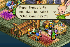 Final Fantasy Tactics Advance - Level Clan HQ - Clan Cool Guys :) - User Screenshot